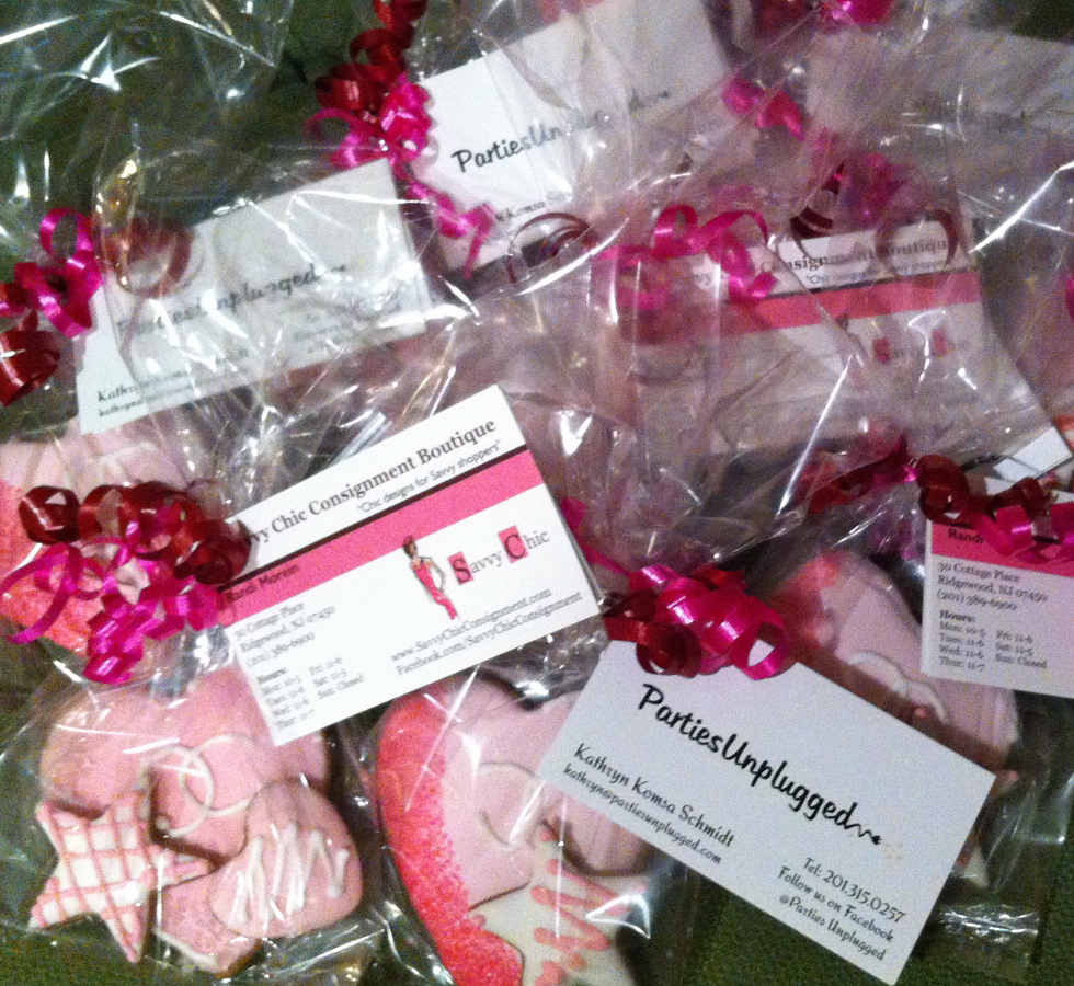 Parties Unplugged in Passaic county New Jersey - take-home favors